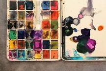 SKETCH Sketchbook Watercolor Art-Journaling Collage