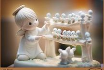 Precious Moments figurines / by Margie Banz Killian