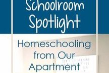 Homeschool - Spaces / I don't have an official space designated for our homeschool, but perhaps I will at some point.  These are some great ideas I've found that I'll be able to draw from at some point and great ideas for ways to utilize the living space we currently have.