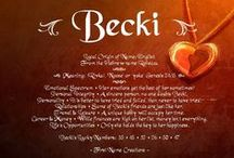 ♥Becki♥ / My youngest sister...who I feel is wiser than I. I admire her independent free spirit...she is very caring and helps others by listening and making them feel encouraged. She is an angel on earth...here to shine her light on others. She loves Life and loves God...she is an inspiration to so many. These things remind me of her..and are things she likes..♥ / by Lisa Siler