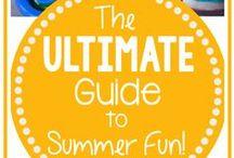 Summertime Family Activities