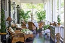 ~Beautiful Porches~ / Ideas and inspiration for creating a welcoming, beautiful front porch!
