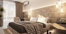 Apartment design / Apartment design in a modern style.
