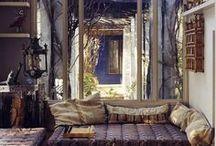 Déco intérieure   Home, sweet home / Inspiration pour une décoration intérieure simple, bohème, colorée
