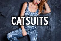 """CATSUITS / Catsuits are a recurring costume for fictional characters in various media, as well as for entertainers, especially for use in musical performances. They are sometimes referred to as """"bodysuits"""", especially in reference to a full-body suit."""