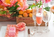Party Ideas / Ideas for beautiful tablescapes, #DIY, #weddings and parties.