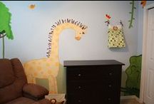 Kid's Rooms and Decor / Kids rooms are the most fun to decorate! From the simple to the bold and brightly colored, it's a wonderland of fun.