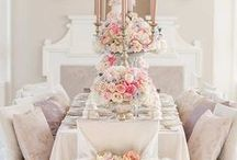 Tablescapes and Party Decor / Fancy tables and parties / by GabrielnBelle