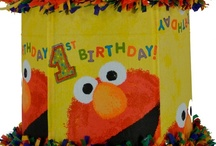 Elmo (Sesame Street) party / by World of Pinatas
