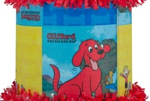Clifford Party / by World of Pinatas