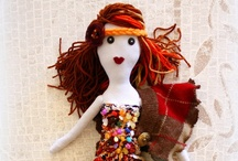 Handmade art dolls / by Liene Creations
