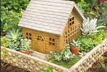 Fairy Gardens, Toad Gardens & Mini Gardens  / cute little fairy garden, fairy homes, toad garden, mini gardens & accessories.  Pin as many as you'd like.  There aren't that many out there so try to not duplicate.  Please stay true to the theme.  HAVE FUN!!!!  No Spam, personal advertisement, or political agenda's allowed on this board or you'll be removed.  Peace!! <3 / by Lissa Pins