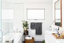 Powdering stations / Bathrooms   Powder Rooms / by Audrey Dyer
