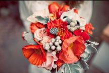 Florals: reds/oranges/yellows / by Linda Crawford