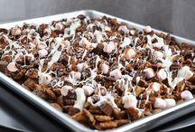 Baking (Popcorn, Krispies, and Muddy Buddies) / by Ashley