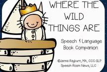 slp book activities / by beth