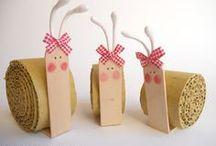 Kids Art & Craft Ideas / by Gergina Dukendjieva