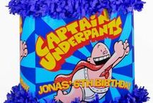Captain Underpants Party / by World of Pinatas