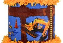 Construction tractor party / by World of Pinatas