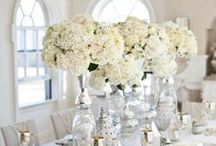 White wedding Decor Inspiration / White on white wedding decor