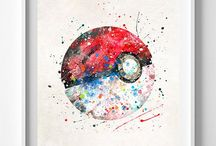 •Pokémon artworks