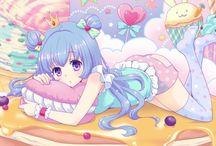 Anime Art / Plusieurs types de dessins mangas, d'on vous pouvez vous inspirez pour créer les votres.