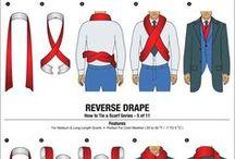 ASTUCES MODE / Astuces mode pour l'homme et la femme. Apprenez à nouer un foulard, à associer vos motifs de cravate...