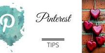 Biz Tips - Pinterest / Pinterest tips - how to style your pins, create pinnable images, get repins and drive traffic to your blog or business website using Pinterest.