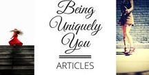 Articles - Being Uniquely You