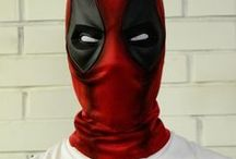 Deadpol Marvel cosplay / Deadpool Cosplay Marvel props