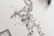 Art references - Horses & Proportion