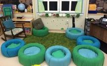"""Life in my """"Kinder-Garden"""" Classroom / Redecorating a Kindergarten classroom with style!"""
