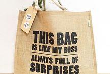 Green Earth jute bags