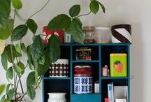 Home sweet home / Shelves, plants and small details for home