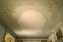 Ceilings~From boring white to gorgeous!