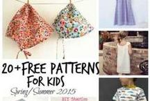 Sewing: Children Clothes & Items / I have 3 beautiful granddaughters & I need to get busy making them summer clothes.  Here are patterns and DIY childrens dresses, skirts, pjs, ties, etc. / by Shannon Jewell