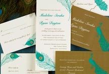 Peacock Wedding Theme / Peacock Theme Wedding Ideas and Peacock Wedding Invitations