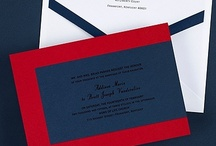 Red, White and Blue Wedding Ideas / Red, White and Blue Wedding Ideas