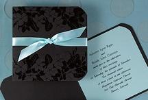 Aqua, Black & White Wedding Ideas