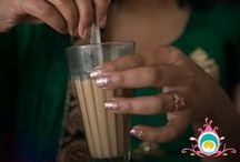 CHAI LOVE / Chai is more than a beverage, it's a ritual - almost a spiritual experience, and we indulge in chai often. We also drink tea ;)