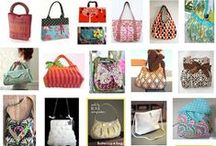Sewing: Purses / Sewing patterns for purses, pouches, backpacks, shopping bags, duffel bags, diaper bags, wallets & fabric baskets.  / by Shannon Jewell