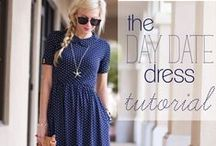 Sewing: Clothes for Adults / Awesome patterns for ladies dresses, shirts, pajamas, skirts.   / by Shannon Jewell