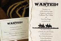 Western Theme Wedding Ideas / Cowboy Up!