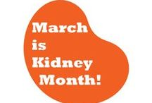 March is Kidney Month / March is National Kidney Month, a time to spread awareness about kidney disease and how to prevent and manage it.