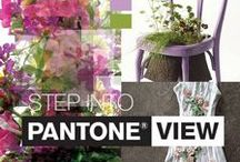 PantoneView / On-Line, On-Trend, On-Target Colour Intelligence   Pantone now has a unique website dedicated solely to color and trend intelligence. PANTONEVIEW.com is a subscription-based color trend and intelligence service that provides visual inspiration, comprehensive color direction and key color insights and analysis from leading color experts.  Sign Up For a FREE 30 Day Trial www.pantoneview.com / by PANTONE COLOR