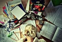 school. / Everything for college. / by Julia Hasenoehrl