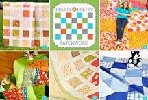 Sewing: Quilting / I love colorful quilts of different crazy fabrics.  / by Shannon Jewell