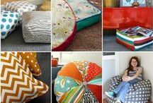 Sewing: Linens, Pillows, Etc. / Gorgeous patterns for bedding, pillows, towels, chair covers, table runners, placemats, curtains and other home decorating items. / by Shannon Jewell