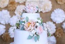 .❥ Wedding Cake /Bolo de Casamento