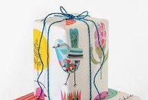 .❥ DIY Wrapping / Pacotes de Presente / Embrulhos e pacotes de presente. .❥All kinds of gift wrapping!
